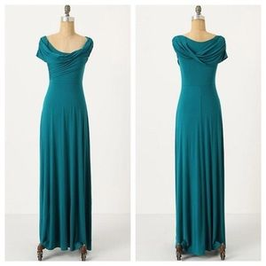 Plenty by Tracy Reese Turquoise Jersey maxi dress